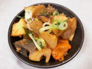 根菜の土佐煮