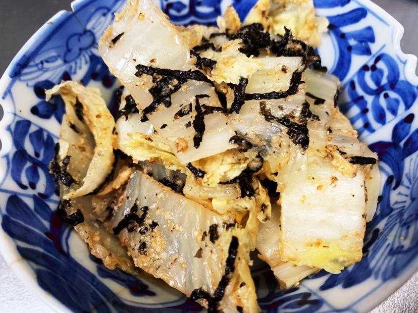 白菜の海苔ゴマサラダ
