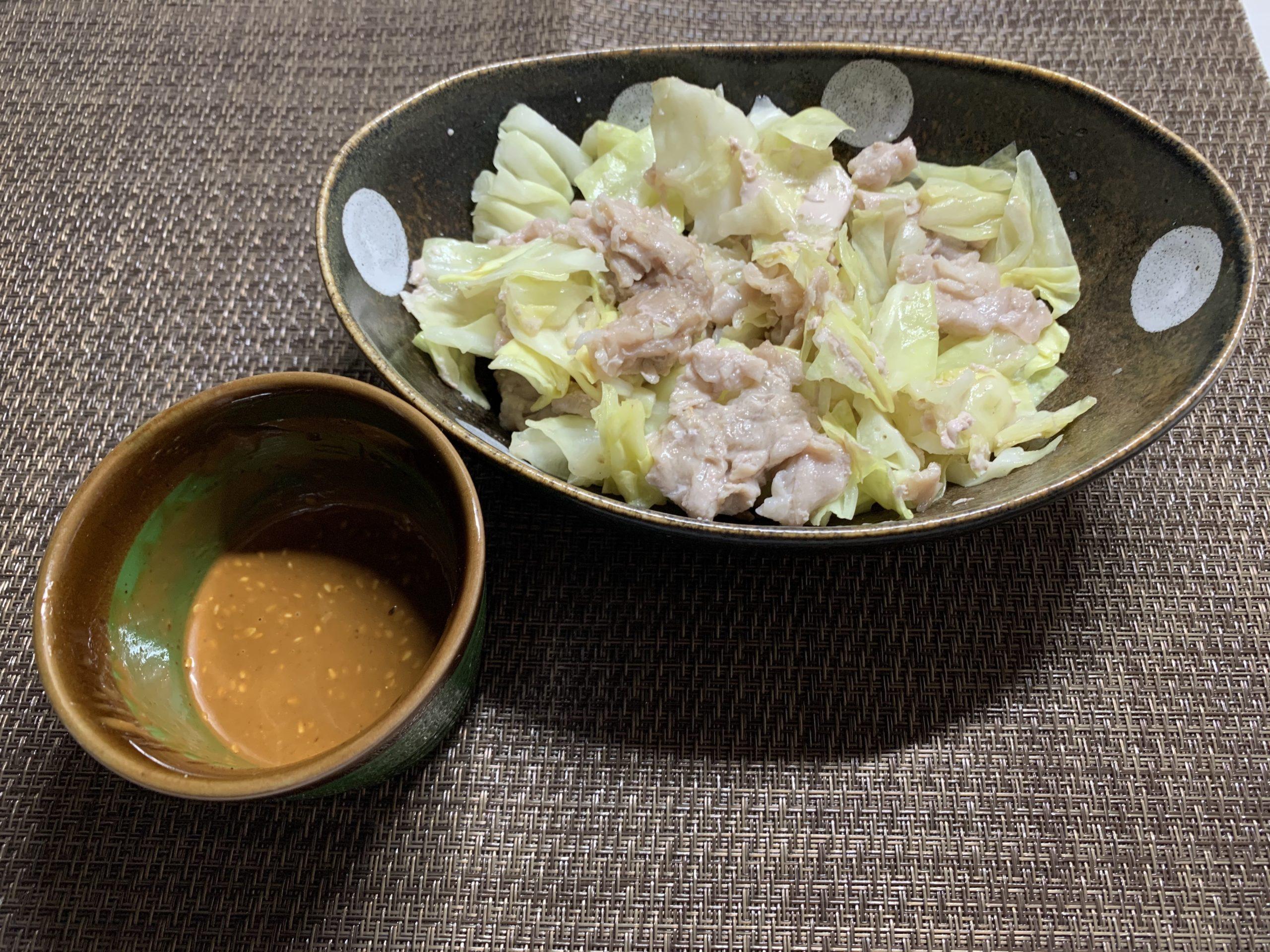 味噌マヨキャベツ